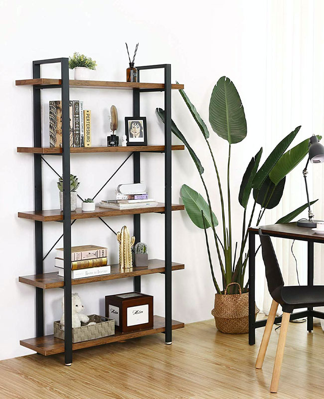 meuble industriel pas cher etagere