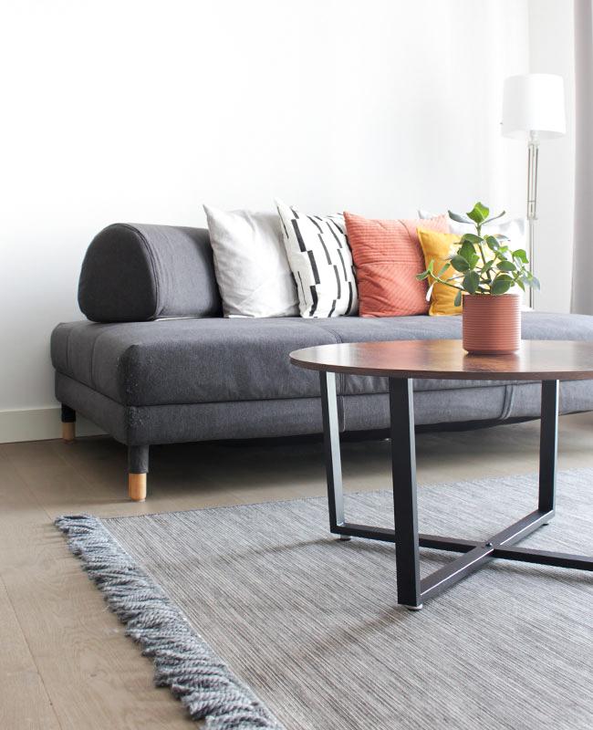 meuble industriel pas cher table basse