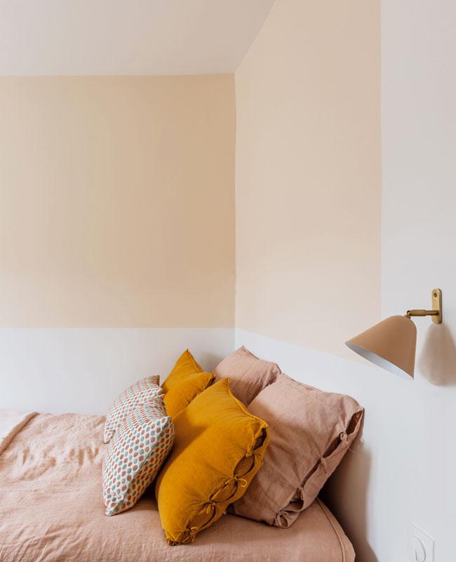 deco appartement boheme colore chambre