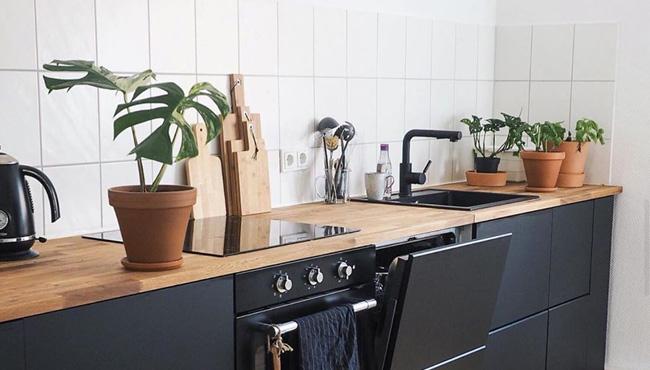 deco cuisine noire