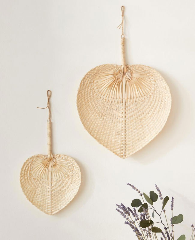 deco cyrillus éventail bambou