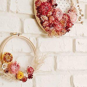 diy fleurs sechees