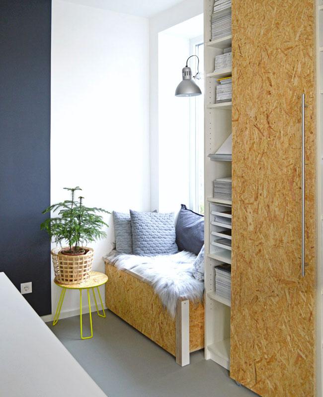 Ikea Hack billy armoire porte osb