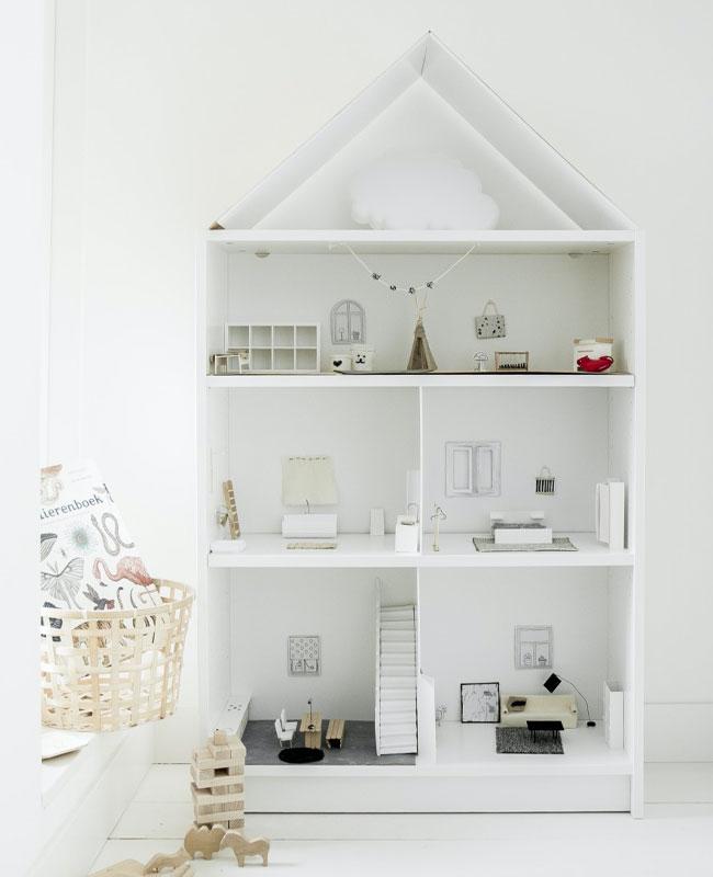 Ikea Hack billy maison poupée