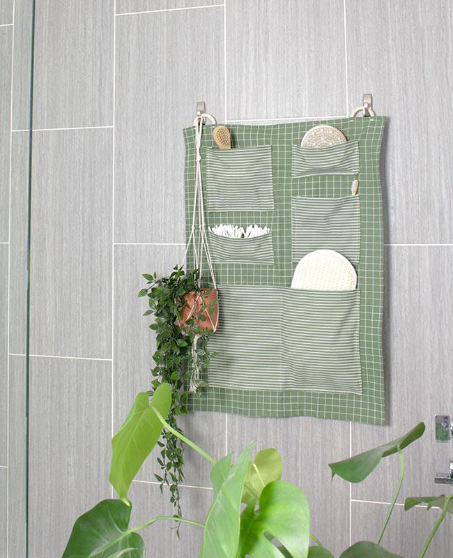 rangement mural diy salle de bain
