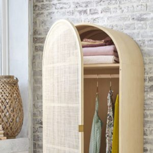armoire cannage