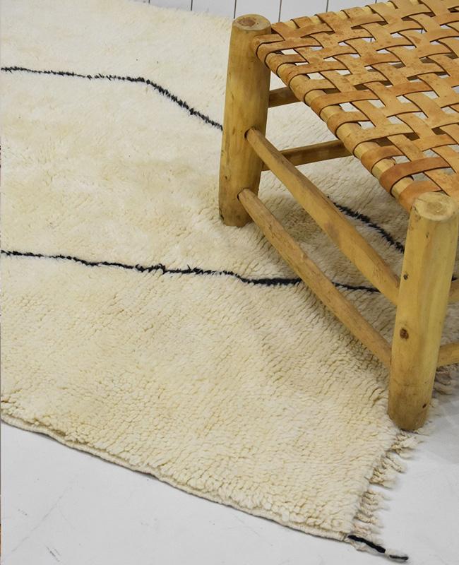 tapis beni ouarain berbere grand losange