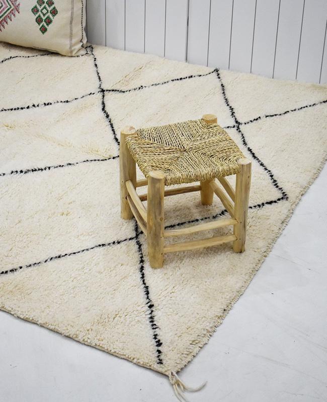 tapis beni ouarain berbere losanges moyens
