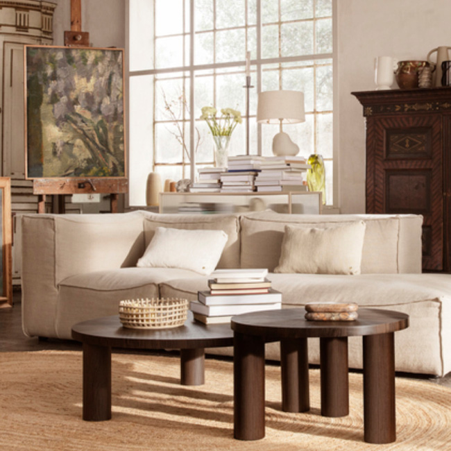 table basse ronde Ferm Living