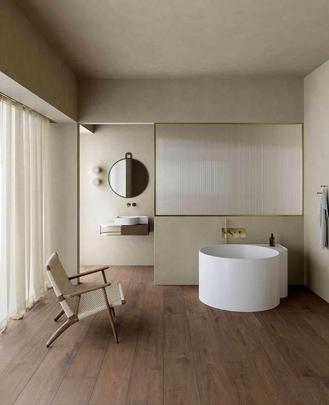collection ex t design salle de bain beige