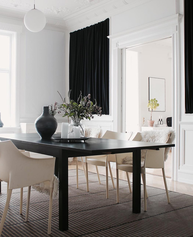 insta deco a nordic moment salle a manger