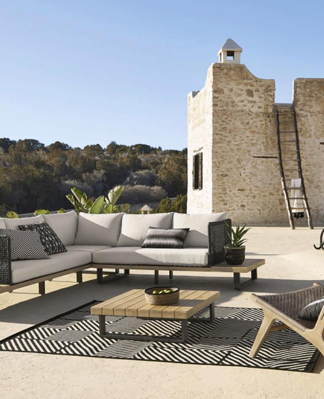 salon de jardin moderne canape angle