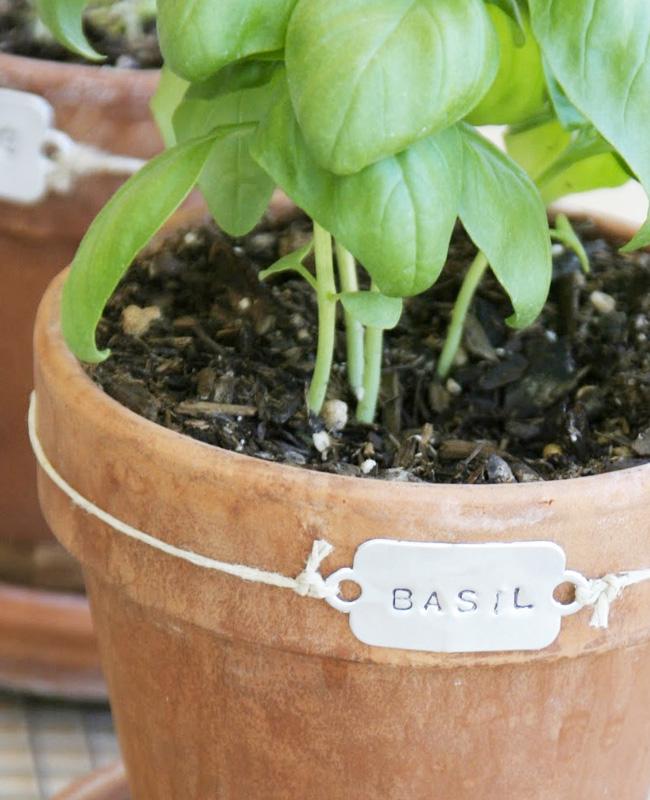 marque plante tuto diy étiquette metal