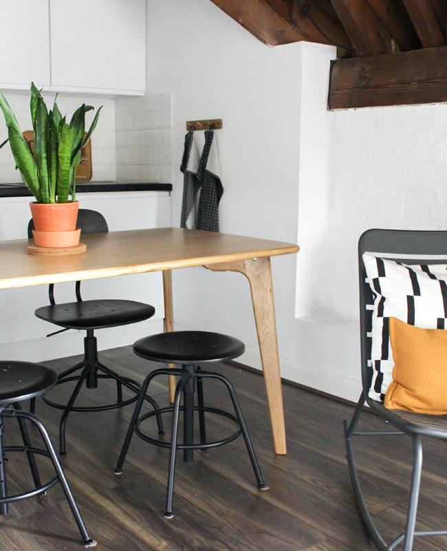table salle a manger bois made fjord