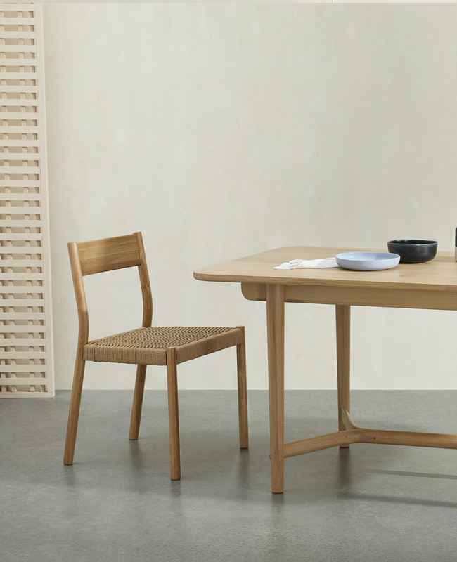 table salle a manger bois made rectangulaire moderne