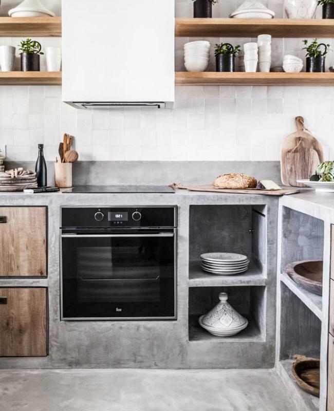 deco cuisine nature zellige blanc