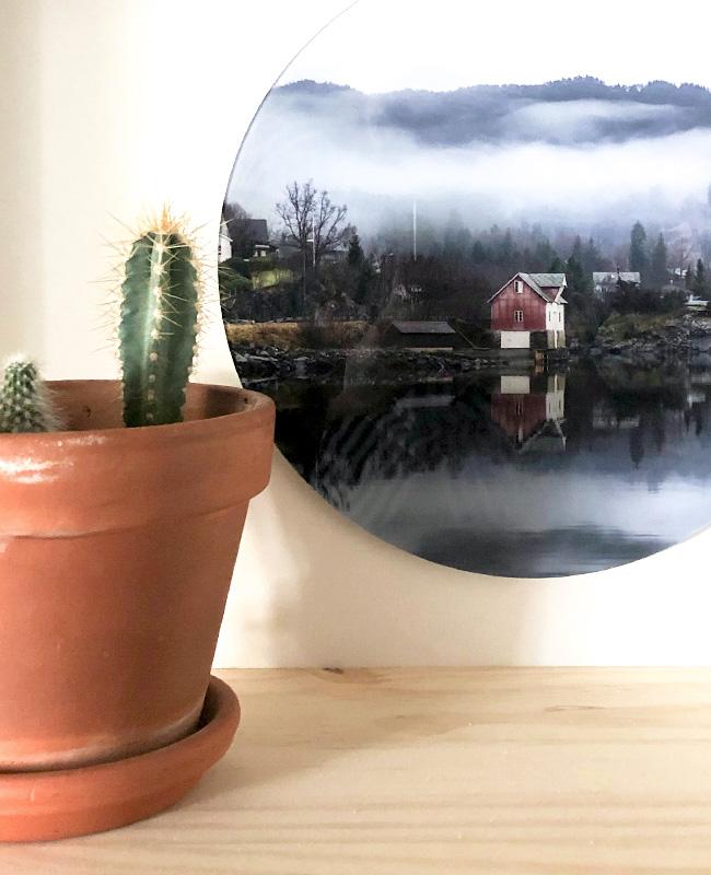 pics my home photo plexiglass ronde