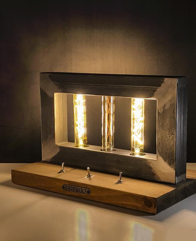 brakio lampe industrielle