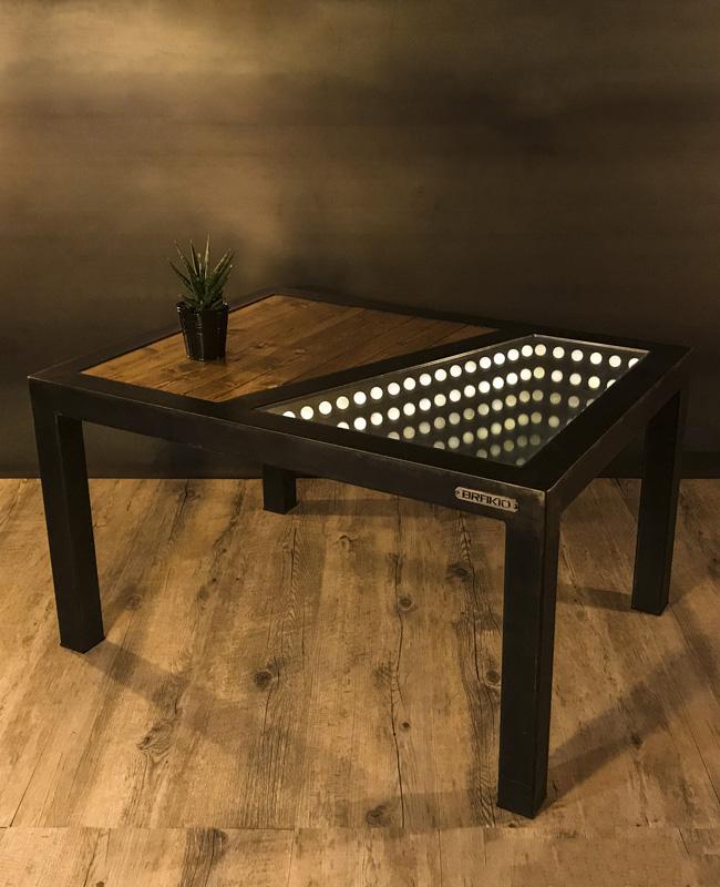 brakio table basse lumineuse