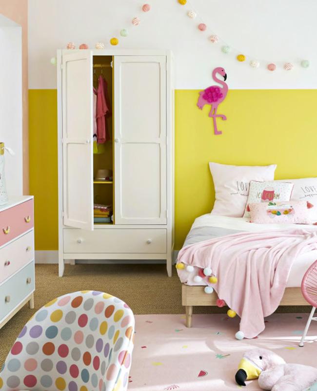 armoire parisienne enfant ivoire
