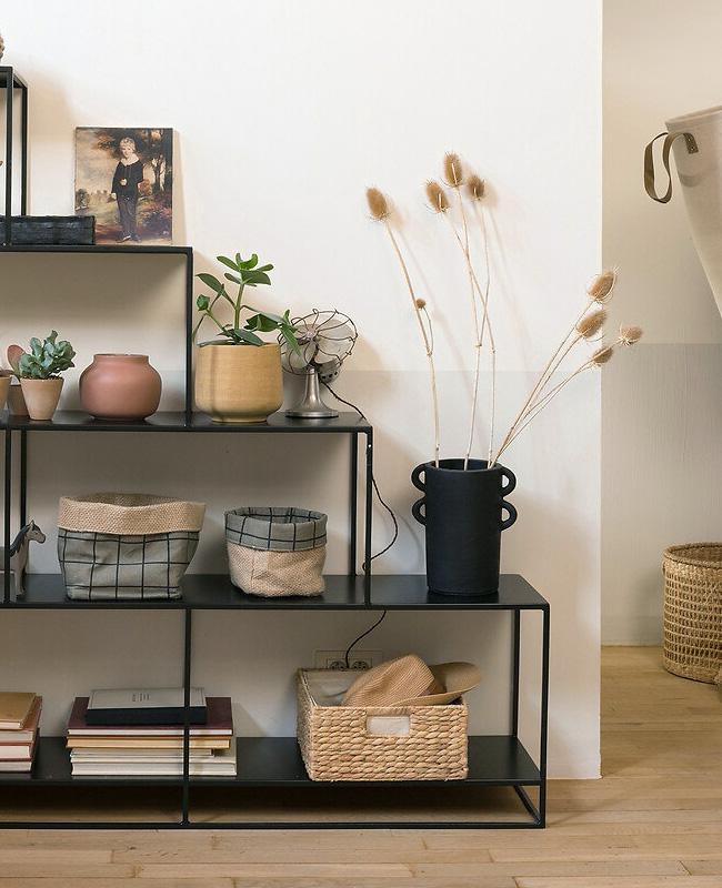 vase céramique artisanal noir