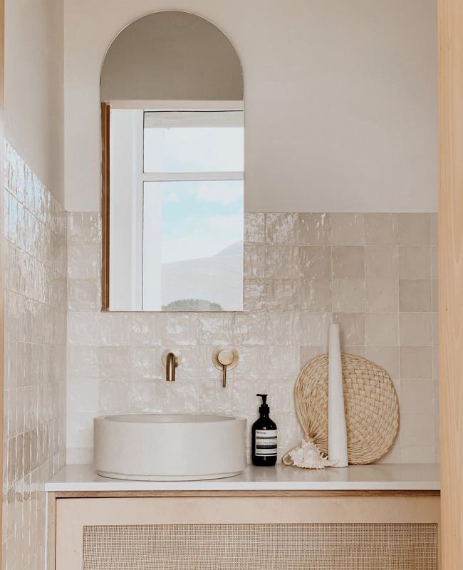 deco salle de bain nature zellige beige