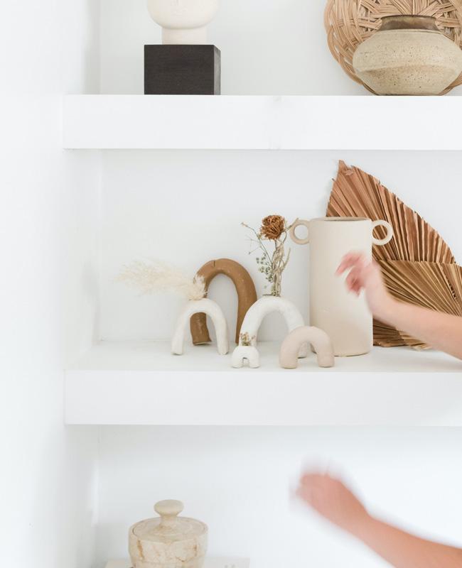 vase terre cuite artisanal diy