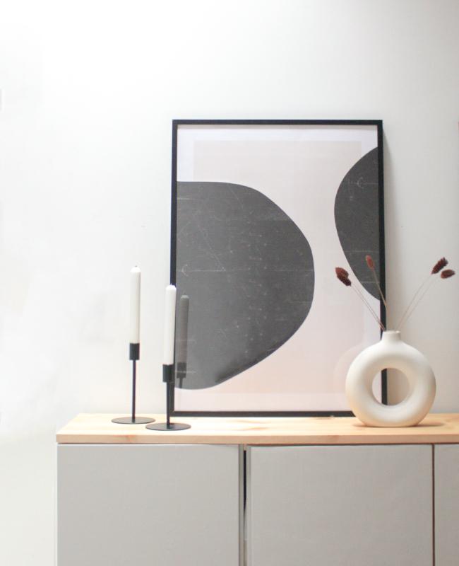 affiche abstraite Dear sam