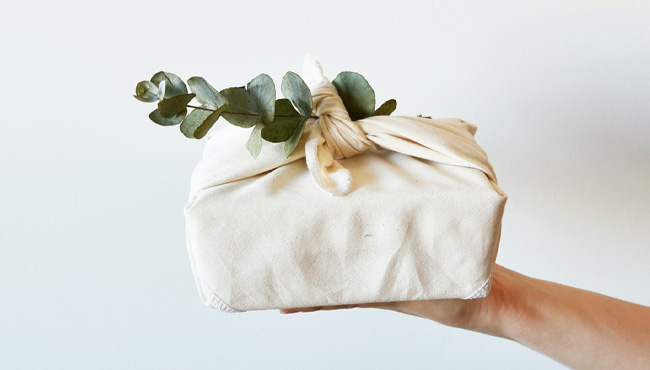 emballage cadeau diy tuto furoshiki