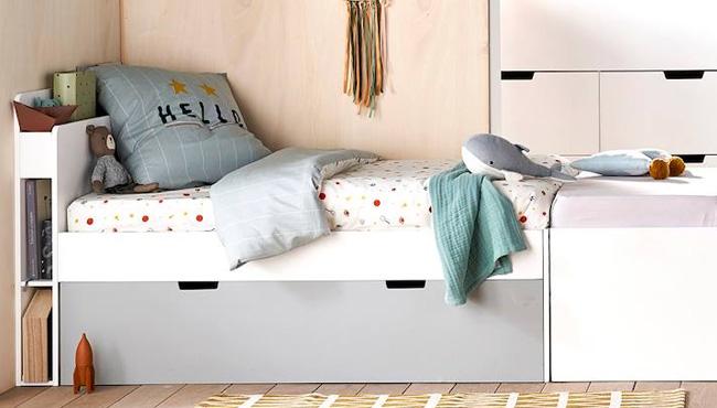 lit enfant rangement