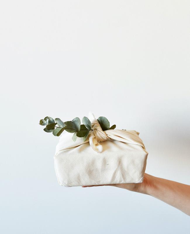 emballage cadeau diy tuto furoshiki naturel