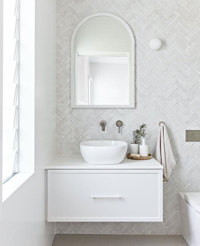 miroir arche deco salle de bain