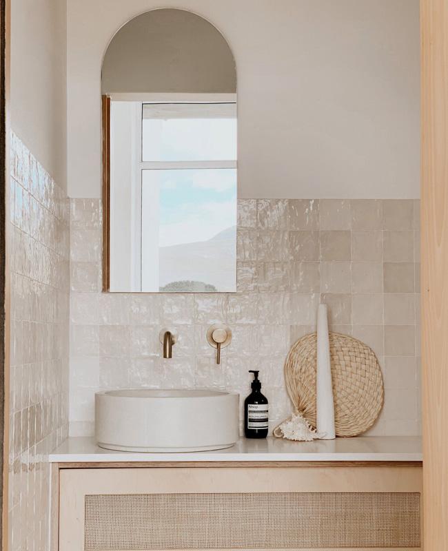 miroir arche zellige deco salle de bain