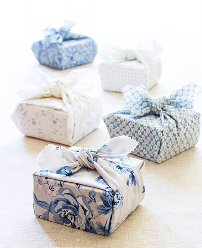 emballage cadeau diy tuto furoshiki japonais