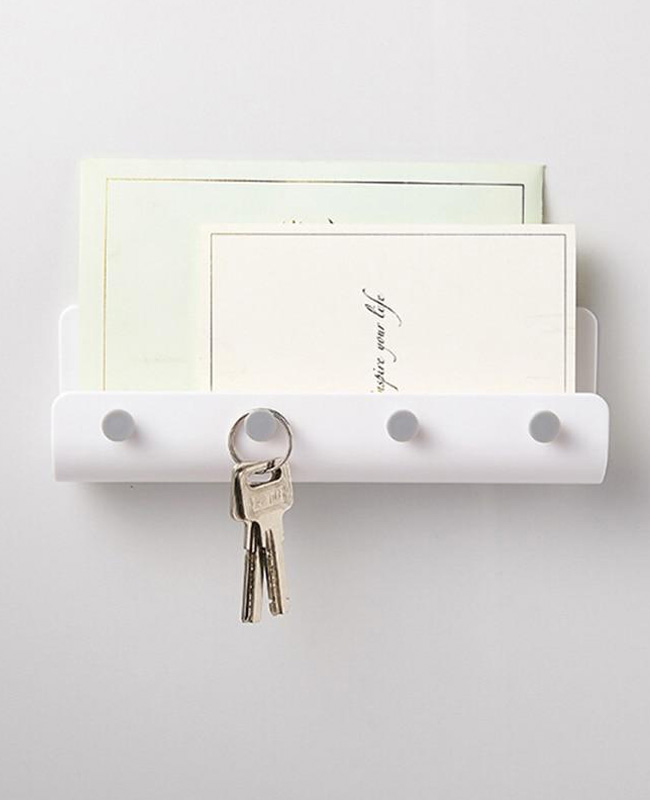 porte cle mural courrier