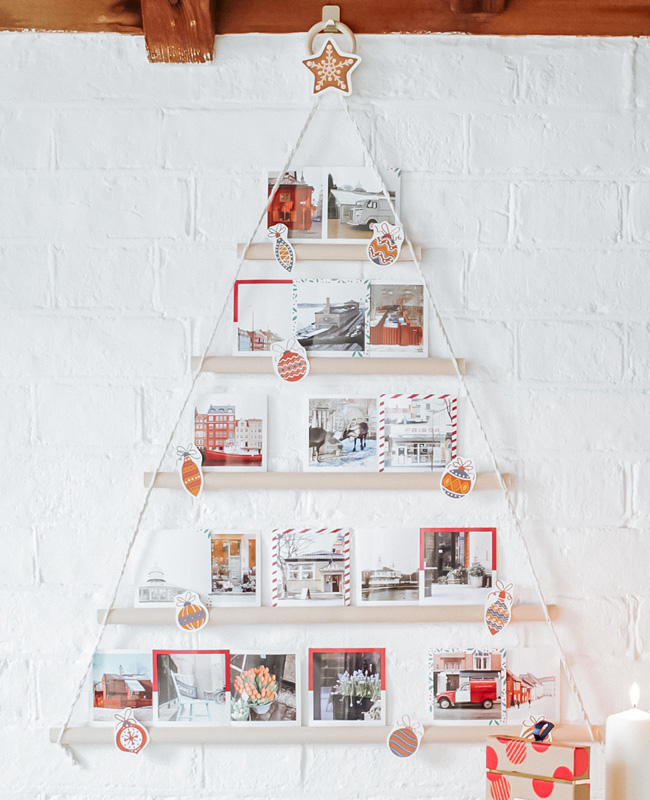 sapin noel photo diy
