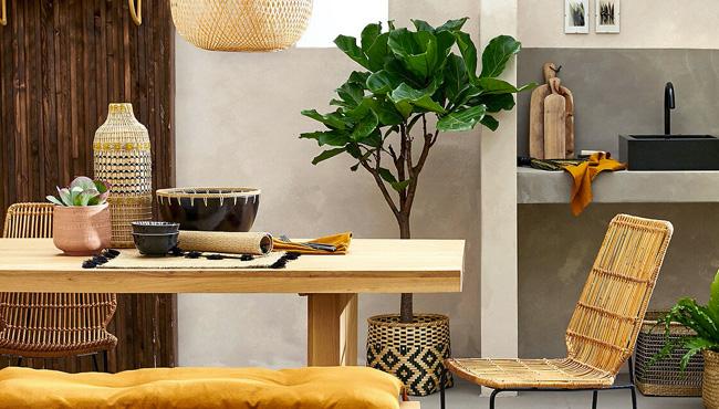 table salle a manger chêne japandi vova