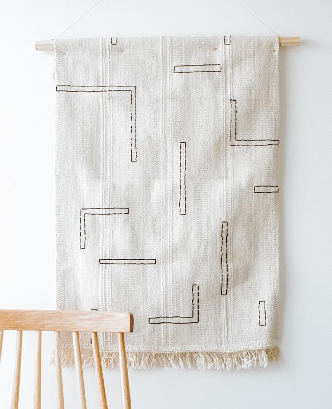 tapis mural Ikea Hack tuto diy