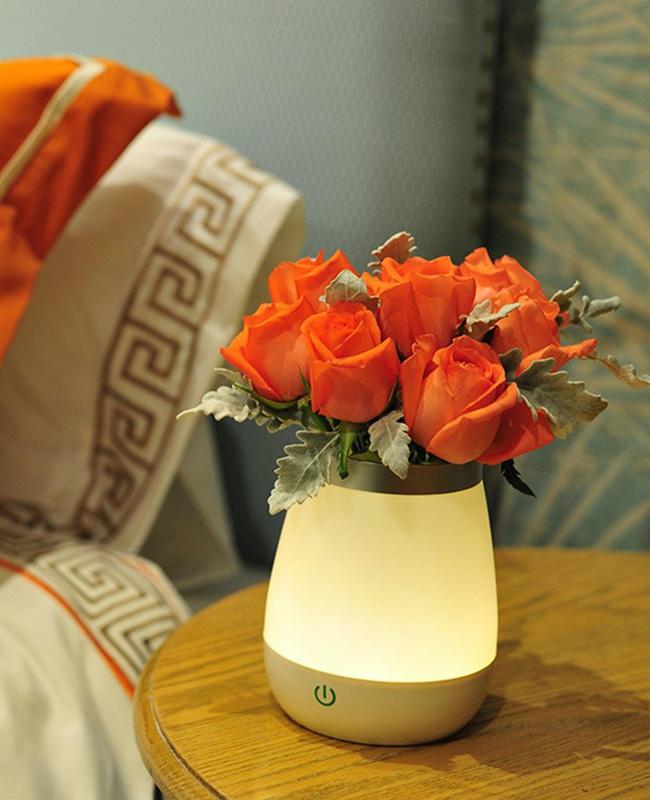 lampe chevet tactile vase