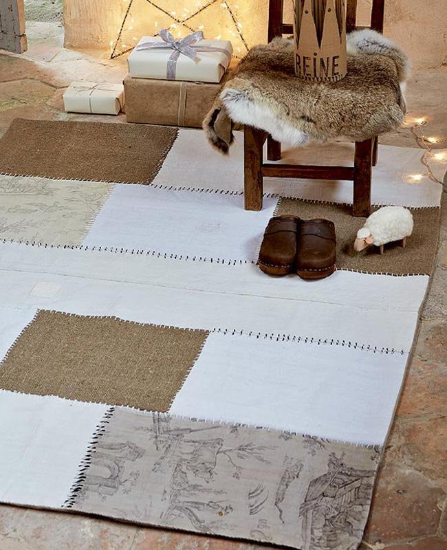 tapis patchwork recup tuto diy