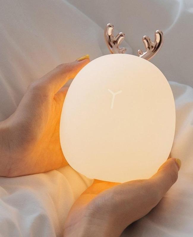lampe chevet tactile cerf enfant