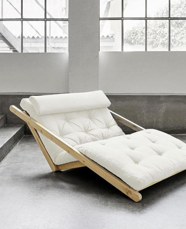 fauteuil futon convertible