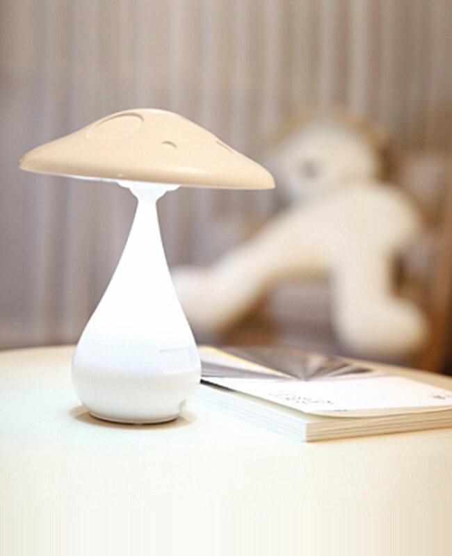 lampe chevet tactile champignon