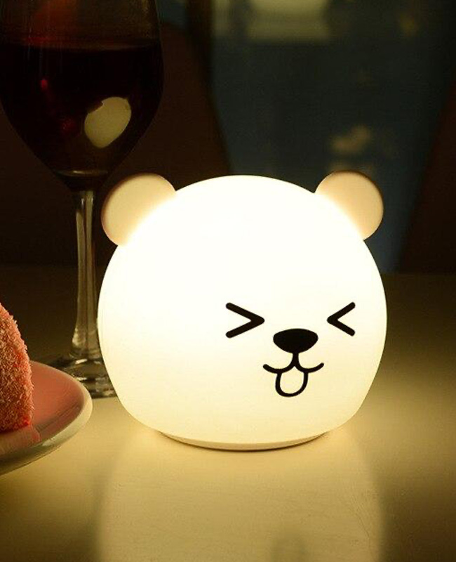 lampe chevet tactile ours