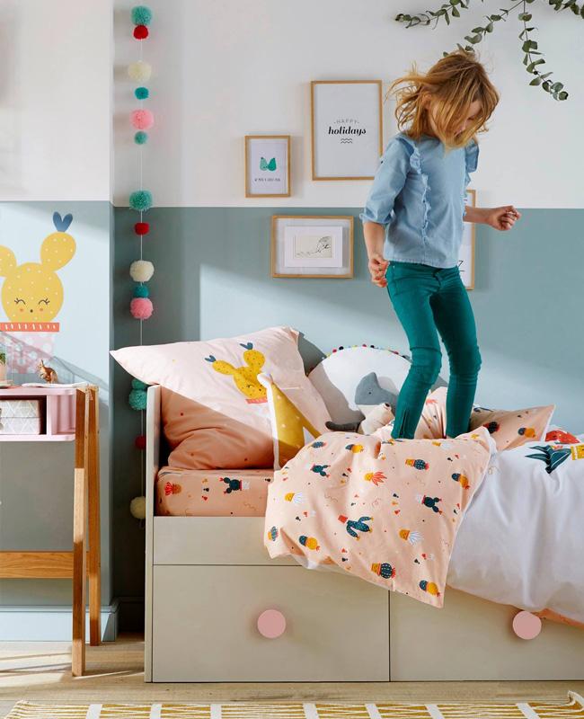 lit rangement enfant grand tiroir