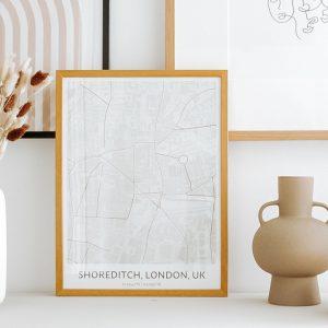 affiche ville personnalisée positive prints