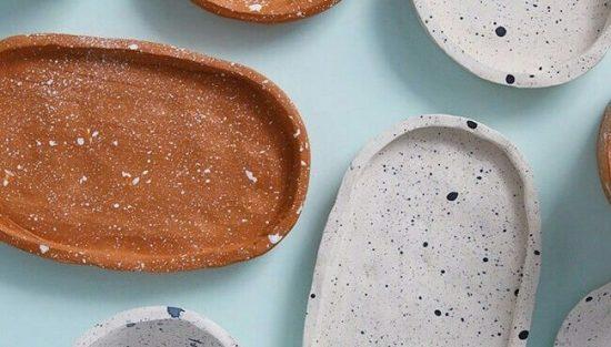 vaisselle terracotta diy