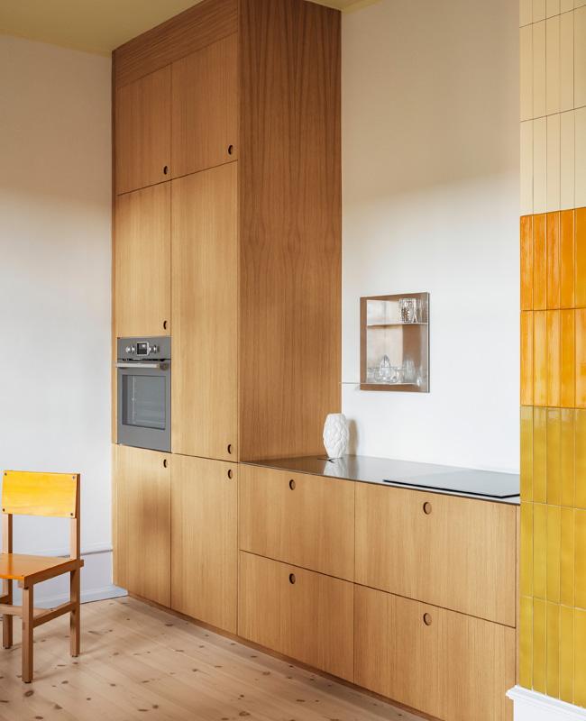 idee deco cuisine petit prix facade bois