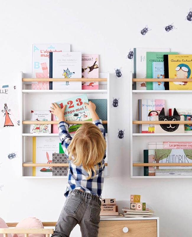 etagere murale enfant livre