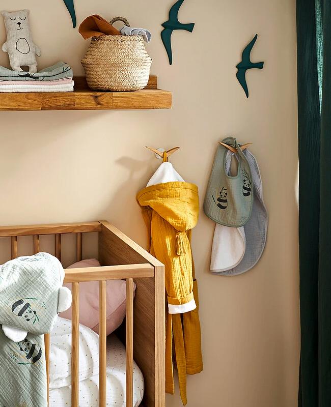 peignoir jaune enfant